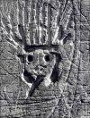 Brassaï, Graffiti, Le roi soleil, de la série « 9 Images primitives »,  vers 1945-50. Photo.