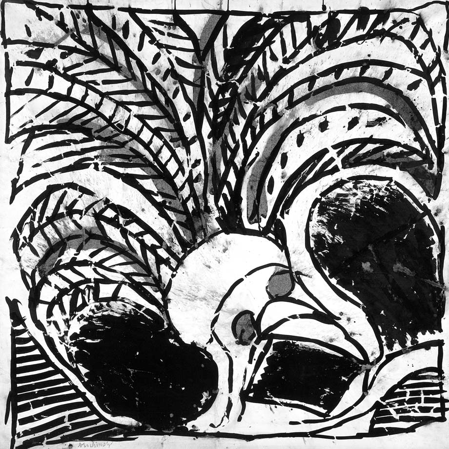 Marginalia plume et pinceau mus e d partemental matisse for Alechinsky oeuvres