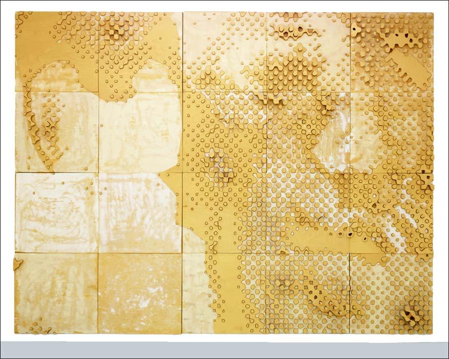 expo cowboy tapisserie piet de thomas bayrle galerie air de paris paris art. Black Bedroom Furniture Sets. Home Design Ideas