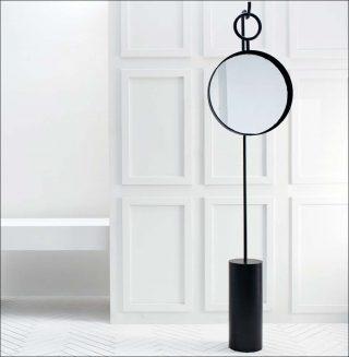 Hanging Mirror, Miroir suspendu, Anna Karlin