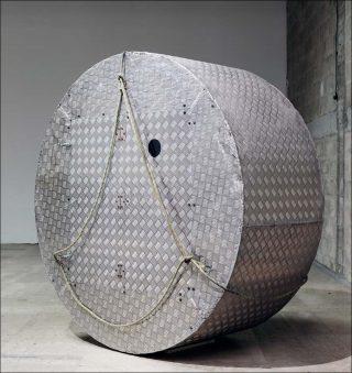 installation, Abraham Poincheval