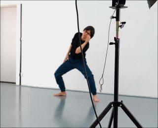En danseuse, danse contemporaine, Alain Michard