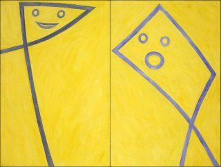 La conversation, Peinture, Emmanuel Pereire