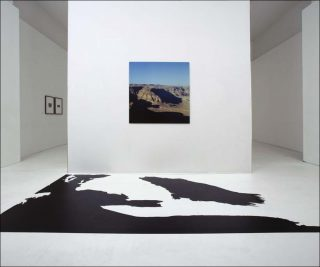 Masada avec ombre, installation, Vera Röhm