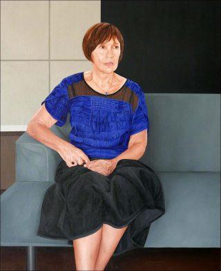 Béatrice, peinture, Anthony Vérot