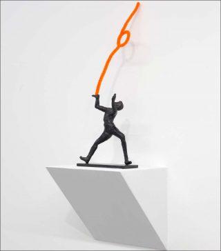 À l'aise, sculpture, Martial Raysse