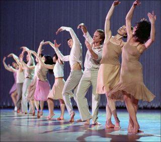 Rain, Danse contemporaine, Anne Teresa de Keersmaeker