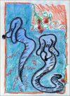 Empty your mind wizards, Pastel sur papier, Tiziana La Melia