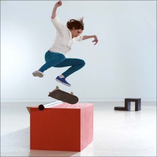 Shaun Gladwell, Skateboarders vs Minimalism, photo
