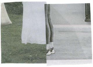 Mund zu Mund, collage, Silvia Bächli