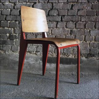 Chaise 4, chaise, Jean Prouvé