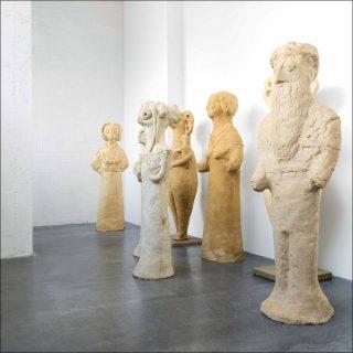 Sans papiers, sculpture, Sven' t Jolle