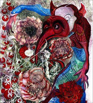 Sans titre, peinture, Laurent Melon