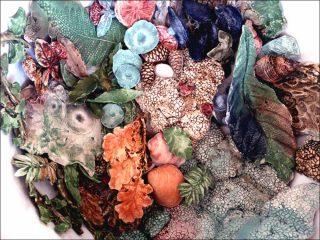 Les Chevelures de Vanda, céramique émaillée, Natacha Lesueur