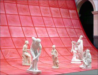 Rideau, installation, Ulla von Brandenburg