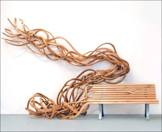 Aladin Spaghetti Bench, banc, Pablo Reinoso
