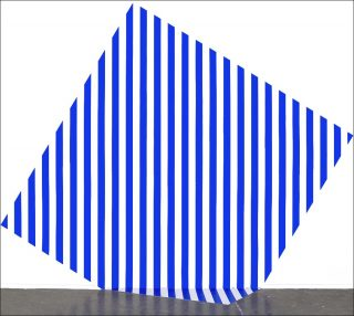 Photo-souvenir : De travers et trop grand, installation, Daniel Buren