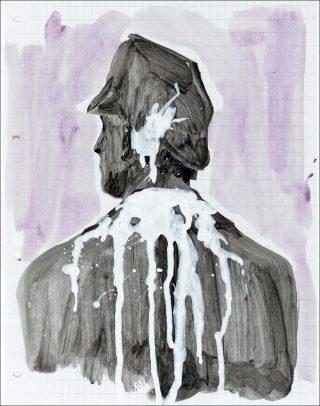 Vorstudie, peinture, Rosemarie Trockel