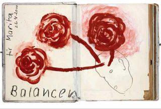 Balancen, livre d'artiste, Hans Sieverding
