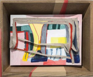 Peinture abstraite n°1, peinture, Sarah Tritz