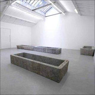 Bassin, sculpture, Valentin Carron