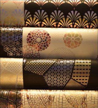 Papier washi la maison wa espace densan design et for Difference design et artisanat