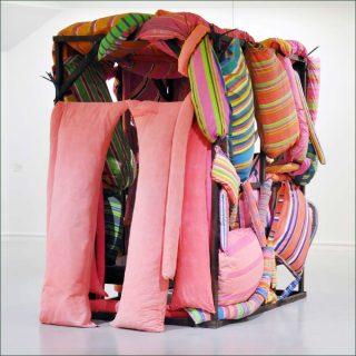 La Chambre d'amour II, installation, Mark Brusse & Marta Minujin