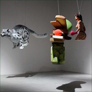 Réalité jetable (détail), 2000-2017, sculpture, Wang Du