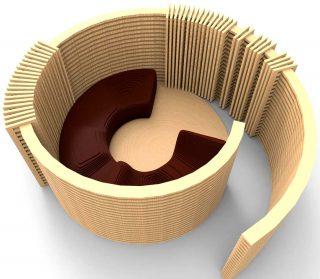 New Living Wood, Galerie VIA, Camille Ransant, La cinquième pièce : Un espace dans un autre