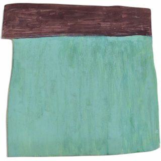 (Sans titre 6) Les formes plates, peinture, Flavie Cournil
