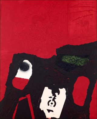 Motllo blanc, gravure, Antoni Clavé