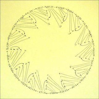 The 39 blocks in a special permutation, dessin, Tom Johnson