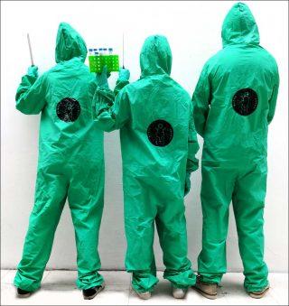 Aliens In Green