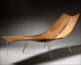 Erling Christoffersen, chaise longue Flugstol, 2004
