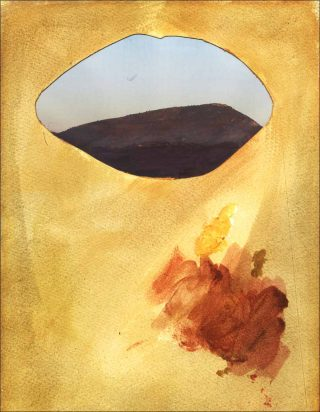 Bouche Céleste, collage, We Are The Painters