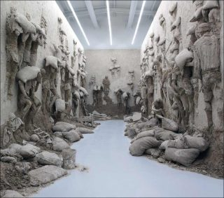 Adel Abdessemed, Shams, 2013. Installation Shams, installation, Adel Abdessemed