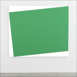 Green Relief (Relief vert), peinture, Ellsworth Kelly