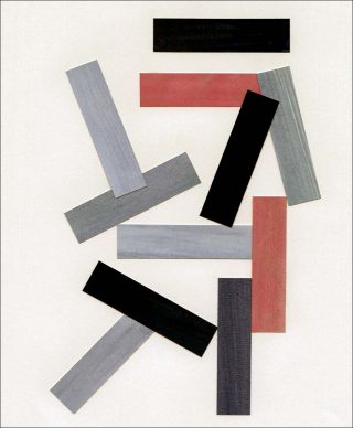 Rectilinear Form N.1, collage, Liam Stevens