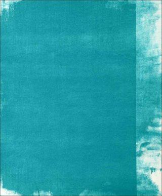 Pigmentum (turquoise bleu), peinture, Miles Hall