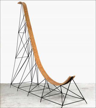Lancement pour de vrai n°1, sculpture, Mathieu Archambault de Beaune