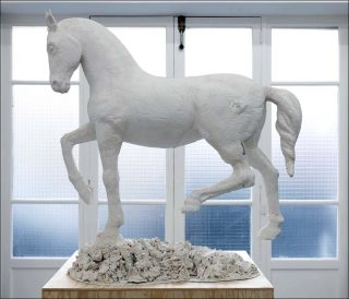 _night Rider 3.1, sculpture, Rudolf Samohejl