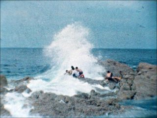 Children Playing in the Sea, film, Shimabuku