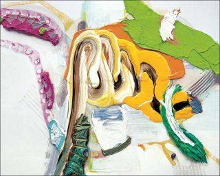 partnulle, peinture, Pia Fries