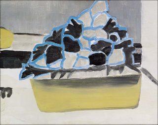 Sans titre, peinture, Luc Tuymans