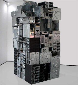 Constant Linear Velocity, installation, Stephen Cornford