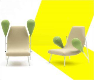 Matali Crasset, fauteuil Extension de générosité, 2017
