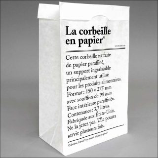 be-poles, L'Article - La corbeille en papier, 2017
