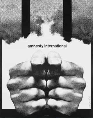 Roman Cieslewicz, Amnesty International, 1975