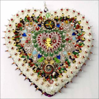 A Cheerful Heart, installation, Sarah Pucci