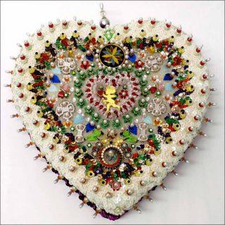 A Cheerful Heart, installation, Sarah Pucci